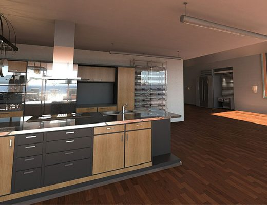 modern kitchen 520x400 - 5 Items for the Ultimate Sustainable Kitchen Makeover